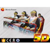 China Attractive 5d Motion Simulation Cinema Mini Spaceship 6 Seats 5D Cinema Oculus Rift With Motion Chair on sale