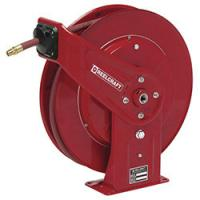 China Steel Shaft Retractable Hose Reel , Industrial Ceiling Mounted Extension Cable Reel on sale