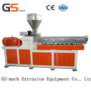Best Parallel Twin Screw Extruder Filler Masterbatch Machine 12 Months Warranty wholesale