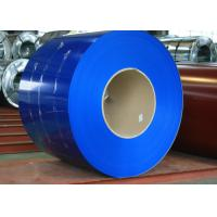 China Galvalume metal roofing  color coated steel coil 914 ~ 1250 mm Width CGCC , EN10169 on sale