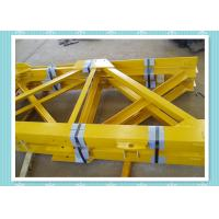 Quality Steel Structure Tower Crane Mast Section Construction With Shot Blast wholesale