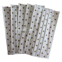 Best White Ear Loop Face Mask With Brown and Round Spots wholesale