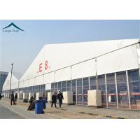 Best PVC Roof Outdoor Exhibition Tents White / Clear / Orange , Fire Proof And Water Proof wholesale
