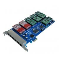 Best 16 port FXS/FXO channels analog Asterisk PCI Express card supports voip ippbx ip pbx call wholesale