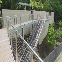 Best DIY Cable Railing / Wire Rope Railing Balustrade with Stainless Steel Wire Ropes wholesale