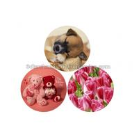 Cheap Durable 0.6mm PET/PP 3D Lenticular Coasters UV Offset CMYK Printing for sale