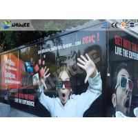 Best Entertainment Equipment Type Of 7d Movie Theater , Mobile Cinema , Flexible Cabin wholesale