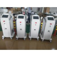 Best 808 755 1064 Hair Removing Laser Machine With  Max 120J / Cm2 V Energy Density wholesale