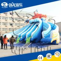 China cheap commercial grade inflatable water slides for summer on sale