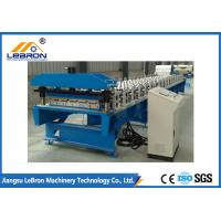 Best High Efficiency Roofing Sheet Roll Forming Machine Light Steel Structure 70mm Shaft wholesale