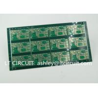 Best FR4 Groove Multilayer PCB Green Solder Mask With Immersion Gold Plating wholesale