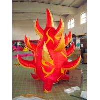 Quality C-09 Inflatable Fire, Inflatable Light Cone For Party And Wedding wholesale