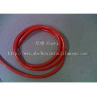 Cheap Red / Black Plastic Flexible Hose For Alligator Clip , Wire Harnesses , Transformers for sale