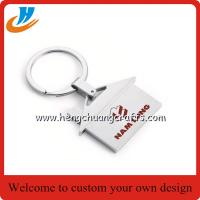 China Custom apple keychain,any logo keychain with laser or print logo on sale