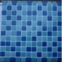 Best house floor and swimming pool tile blue wholesale