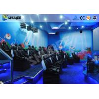 Best 9 Seats 5D Cinema System Equipment Motion Chair With Many Special Effects wholesale
