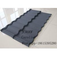 Anti Earthquake Stone Coated Roofing Tiles 0.45mm thickness For Terrace House