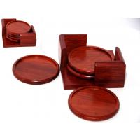 Best Rosewood Cup Coaster set wholesale