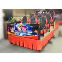 Best Hydraulic Platform 5D Simulator with 9 Seats Motion 5D Cinema Chair wholesale