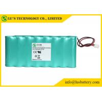 Best 9.6V 1300mah AA NIMH Rechargeable Battery Pack OEM / ODM Acceptable wholesale