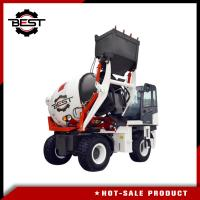 China 2 cubic meters self loading small concrete mixer truck for sale on sale