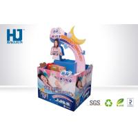 China Customized Folding Printed Corrugated Dump Bin Display For Advertising Promotion on sale