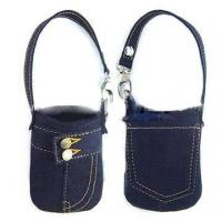 Best fashion design mobile neck strap bag in low price wholesale