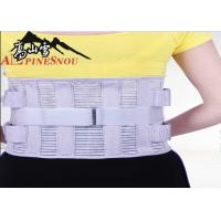 Best High Waist Support Belt With High Elastic Fish Silk Cloth And Steel Plates wholesale