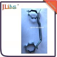 Quality Iron Sheet Hanging Pipe Clamps , Pipe Fastener Bracket For R588 Suporte Metalico wholesale