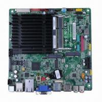 Buy cheap Mini-ITX Motherboard, Embedded Mainboard, Intel Atom N2800, All-In-One, Dual from wholesalers