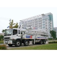 47m Isuzu Concrete Pump Truck Mounted 8x4 / Concrete Placing Equipment