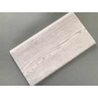 Best Smooth Tough Wood Laminate Wall Panels , Interior Pvc Cladding Panels Wooden Design wholesale