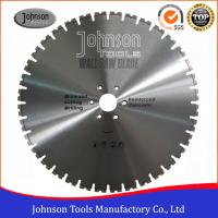 Best 600mm Laser Welded Wall Saw Diamond Blade for Reinforced Concrete Cutting wholesale