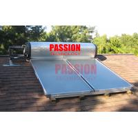 Best 300L Integrated Pressure Solar Water Heater with Blue Titanium Flat Collector wholesale