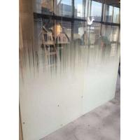 """Best Tempered shower enclourses, office partions, acid etched glass, frosted glass, silkscreen glass 96""""x130"""" wholesale"""