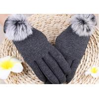 Best Winter Women'S Gloves With Touch Screen Fingertips , Soft Gloves For Cell Phone Use  wholesale