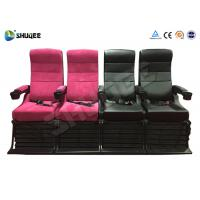 Best Electric 4D Movie Theater Motion Chair With Special Effect System 1 Year Warranty wholesale