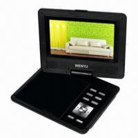 China 7-inch Portable DVD Player with USB, SD card, Game and TV functions on sale