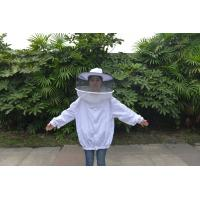 Best Round Veil White Bee Jacket with Round Hat of Beekeeping Protective Clothing wholesale