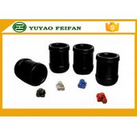 China Professional  PU Custom Dice CUP SET  Packed in PU box on sale