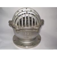 Quality ANSI 150 RF Stainless Steel Foot Valve SS 316 Body And Bonnet Spring And Mesh wholesale