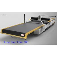 Quality High Accuracy Automatic Cloth Cutting Machine , Textile Fabric Cutter Machine wholesale