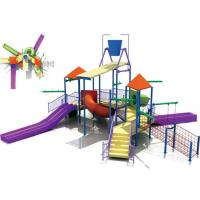 Best OEM Fiberglass Water Park Construction , Kids Water Playground Equipment System wholesale