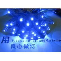Cheap 9mm 5V led channel letters blue color pixel light outdoor led signs for sale