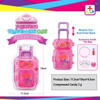 Best Princess travelling bag with candies in plastic bag wholesale