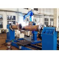 China MIG TIG MAG Automated Welding Systems , Tube Type Heat Exchanger Robotic Welding Equipment on sale