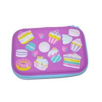 Best Cute School EVA Tool Case Custom Leather Print Kids 3D Pencil Case Waterproof wholesale