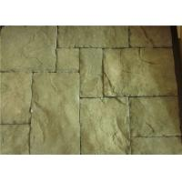 Best Custom Rectangle Faux Stone Siding For Houses Low Water Absorption wholesale