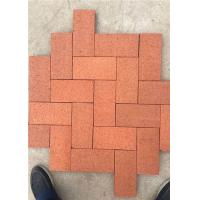 Quality Standard Size Solid Clay Baking Brick , Rustic Decorative Brick Pavers wholesale