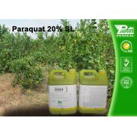 Best Paraquat 20% SL Selective Herbicide  control of weeds and grasses Cas No.4685-14-7 wholesale